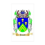 Jessett Sticker (Rectangle 50 pk)