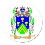 Jessep Round Car Magnet