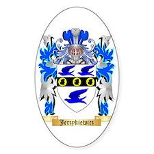 Jerzykiewicz Sticker (Oval)