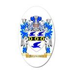 Jerzykiewicz 35x21 Oval Wall Decal