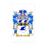 Jerzyk Sticker (Rectangle 50 pk)