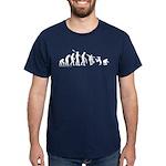 Skateboard Evolution Dark T-Shirt