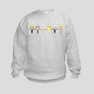 Cockatiels Kids Sweatshirt