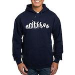 Skateboard Apes Evolution Hoodie (dark)
