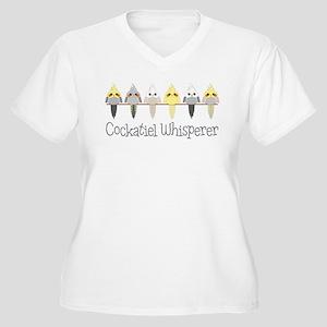 Cockatiel Whisperer Plus Size T-Shirt