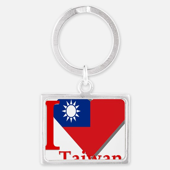 I love Taiwan Landscape Keychain