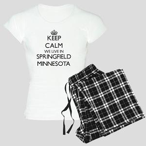 Keep calm we live in Spring Women's Light Pajamas