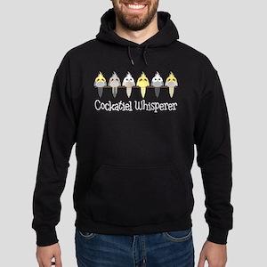 Cockatiel Whisperer Hoodie (dark)