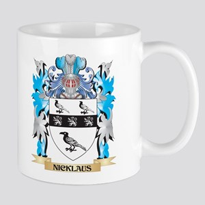 Nicklaus Coat of Arms - Family Crest Mugs