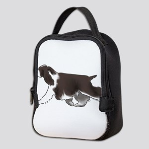 english springer spaniel Neoprene Lunch Bag