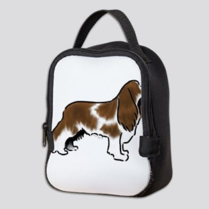 cavalier king charles spaniel red white Neoprene L