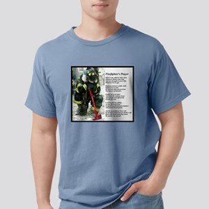 Old Version Firefighter Prayer T-Shirt