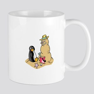 PENGUIN AND SNOWMAN Mugs