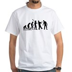 Zombie Evolution White T-Shirt