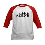 Zombie Evolution Kids Baseball Jersey