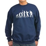 Zombie Evolution Sweatshirt (dark)