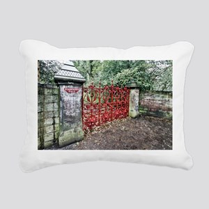 Strawberry Fields Rectangular Canvas Pillow