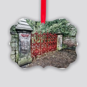 Strawberry Fields Picture Ornament