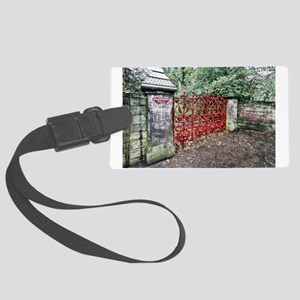 Strawberry Fields Large Luggage Tag
