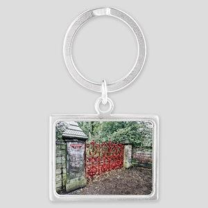 Strawberry Fields Landscape Keychain