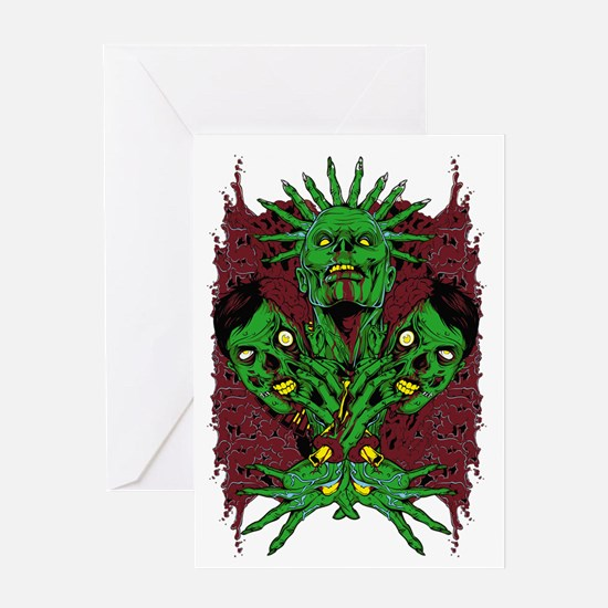 Metal Artworks Design #2 Greeting Card