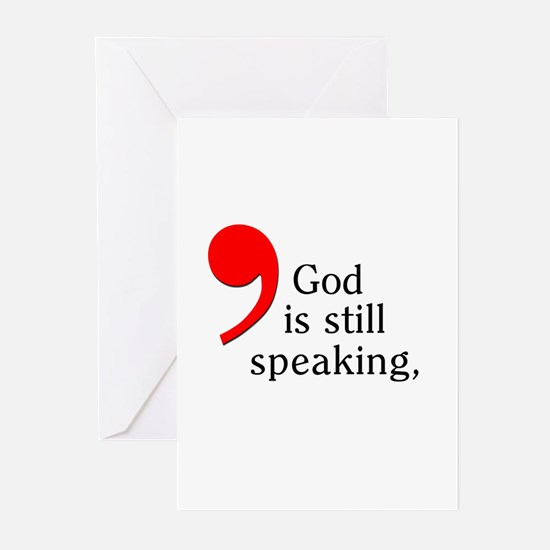 God is Still Speaking Greeting Cards (Pk of 10