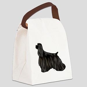 black american cocker spaniel Canvas Lunch Bag