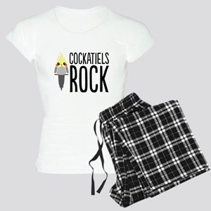 Cockatiels Rock Women's Light Pajamas