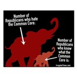 Republicans And The Common Core Small Poster