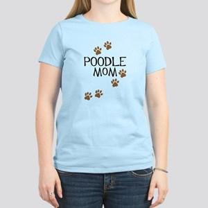 Poodle Mom Women's Light T-Shirt