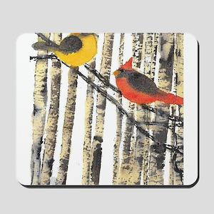 Cardinal Paair Mousepad