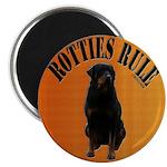 Rotties Bring It & Rule Magnet