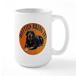 Rotties Bring It & Rule Large Mug