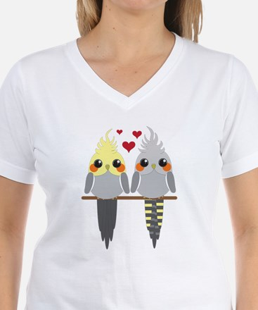 Cockatiels in Love T-Shirt