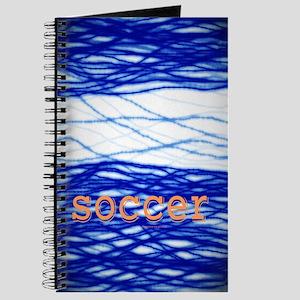 Sports Blue Soccer Journal