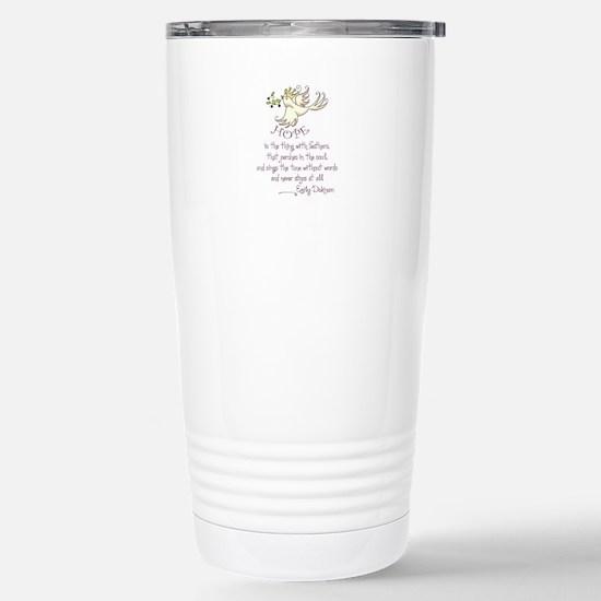 HOPE IS Travel Mug