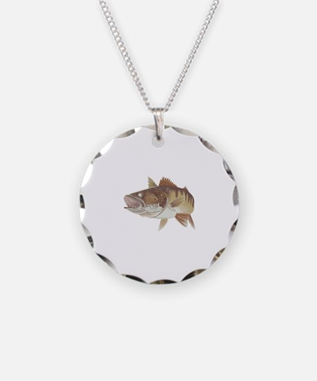 LARGE WALLEYE Necklace