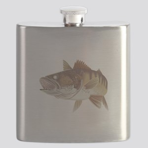 LARGE WALLEYE Flask