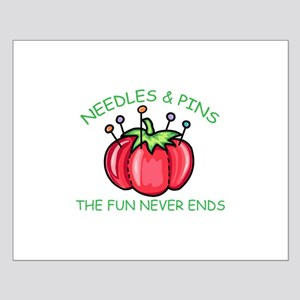 Needles & Pins The Fun Never Ends Posters