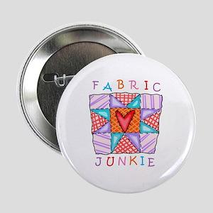 "Fabric Junkie 2.25"" Button"