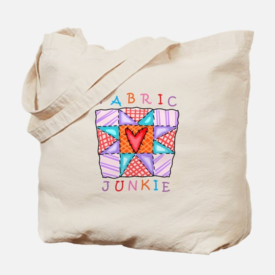 Fabric Junkie Tote Bag