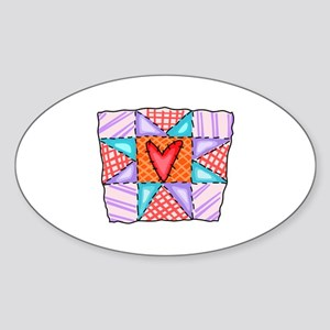 PATCHWORK QUILT Sticker