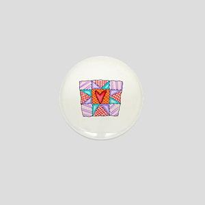 PATCHWORK QUILT Mini Button