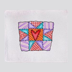 PATCHWORK QUILT Throw Blanket