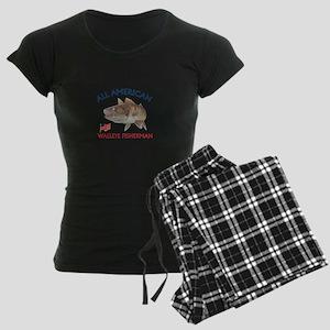 AMERICAN WALLEYE FISHERMAN Pajamas