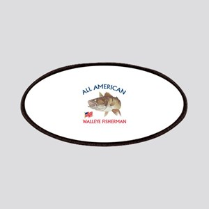 AMERICAN WALLEYE FISHERMAN Patches