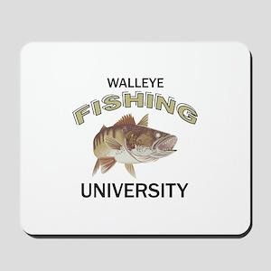 WALLEYE FISHING UNIVERSITY Mousepad