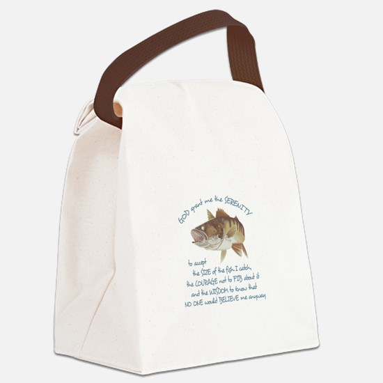 A FISHERMANS PRAYER Canvas Lunch Bag