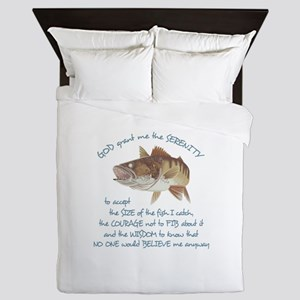 A FISHERMANS PRAYER Queen Duvet