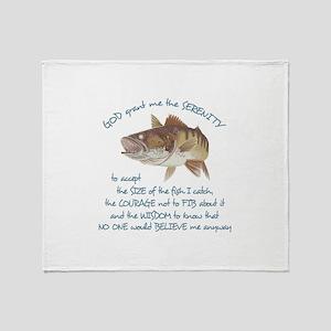 A FISHERMANS PRAYER Throw Blanket